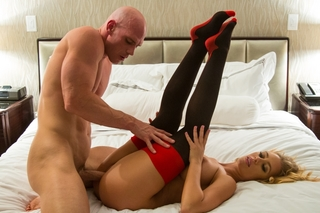 Nicole Aniston  & Johnny Sins in Tonight's Girlfriend - Tonight's Girlfriend - Sex Position #11