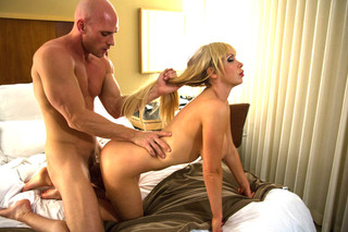 Nikki Benz & Johnny Sins in Tonight's Girlfriend - Tonight's Girlfriend - Sex Position #9