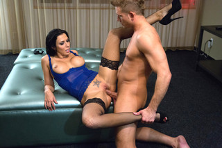 Rachel Starr & Bill Bailey  in Tonight's Girlfriend - Tonight's Girlfriend - Sex Position #6
