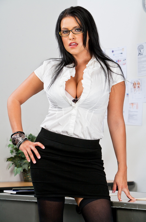Lacie James - xxx pornstar in many Office & Black Hair & Teacher videos