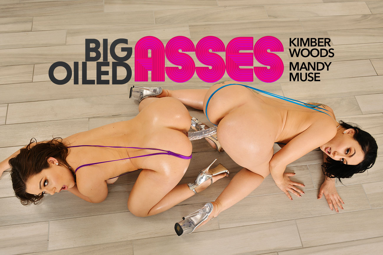 Naughty America Vr Big Oiled Asses Featuring Mandy Muse And Kimber Woods