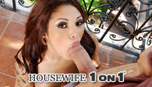 Watch horny housewives pleasure their man!