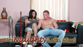 Latin maids do it all in My Naughty Latin Maid